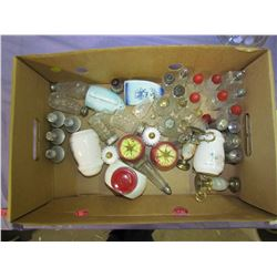 LOT OF ASSORTED SALT & PEPPER SHAKERS