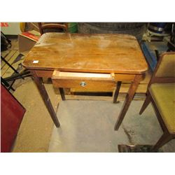 """WOODEN DESK WITH DRAWER (26""""W)"""