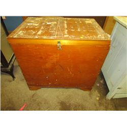 """WOODEN CRATE (30""""W)"""