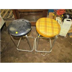 """TWO STOOLS (28"""" TALL)"""