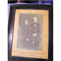 """PICTURE AND FRAME (1871-1911) *23"""" X 29""""*"""