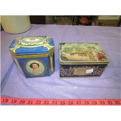 TWO ROYALTY TINS (1936 & 1953)