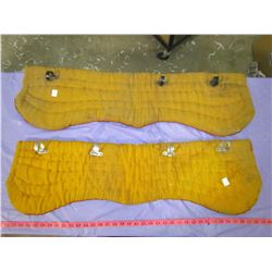"""TWO HORSE PADS (36"""" X 10"""")"""