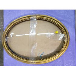 "CONVEX GLASS FRAME (OVAL) *22"" X 16"""