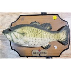 BIG MOUTH BILLY BASS, TESTED & WORKING
