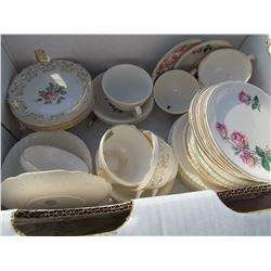 LOT OF 44 SAUCERS AND 11 CUPS