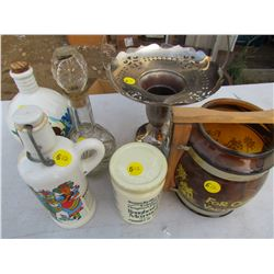 LOT OF ASSORTED GLASS ITEMS