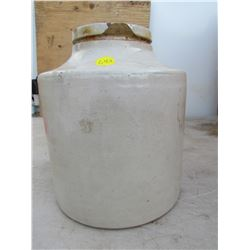 ONE GALLON CROCK (HAS SOME CHIPS)