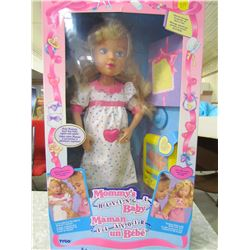MOMMY'S HAVING A BABY DOLL