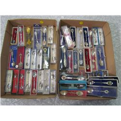 LOT OF OVER 45 COLLECTOR SPOONS