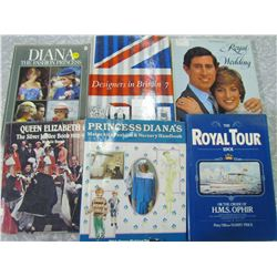 LOT OF ROYALTY BOOKS (6)