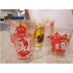 LOT OF 6 ASSORTED PIECES OF ROYALTY GLASSWARE
