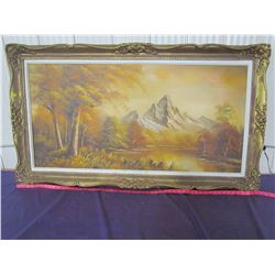 """PICTURE AND FRAME (54"""" X 31"""")"""