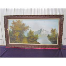 """PICTURE AND FRAME (31.5"""" X 55"""")"""