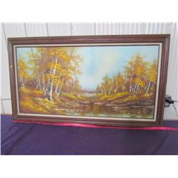 """PICTURE AND FRAME (30.5"""" X 54.5"""")"""