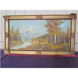 """PICTURE AND FRAME (31 X 54.75"""")"""