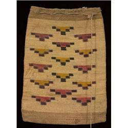 Old Nez Perce Cornhusk Bag 17  H. 12 1/2  W.