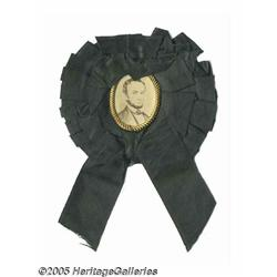 Exceptional 1865 Abraham Lincoln Mourning Badge I