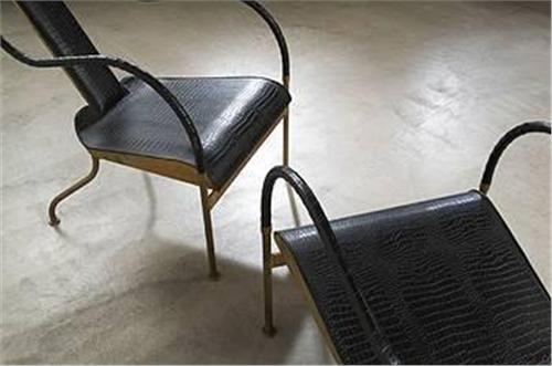 ... Image 2 : Mats Theselius El Rey Lounge Chairs, Pair