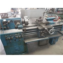 "Meuser Lathe around 14"" x 40"""