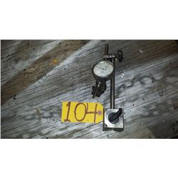 Dial Indicator on Magnetic Base