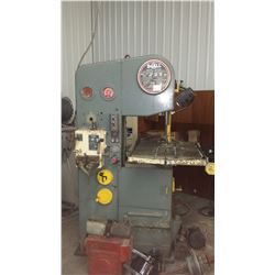 DoAll Band SAW with integrated DoAll Welder