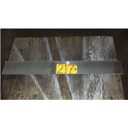 """Stainless Plate (304) 30"""" x 3""""3/4 x 1/8"""""""