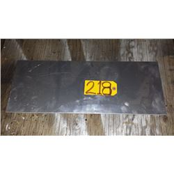 """Stainless Plate (304) 22""""1/4 x 8""""1/2 x 1/8"""""""