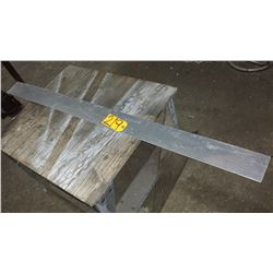 """Stainless Plate (304) 57""""1/4 x 4"""" x 1/16"""""""