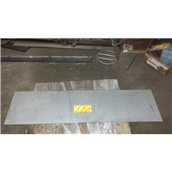 """Stainless Plate (304) 45"""" x 12"""" x 1/16"""""""