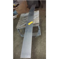 """Stainless Plate (304) 8'x 7""""1/4 x 1/8"""""""