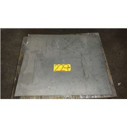 """Stainless Plate (304) 26"""" x 23"""" x 1/16"""""""