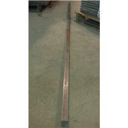 "Stainless Square Rod 92""1/4 x 1""1/4 x 1""1/4"