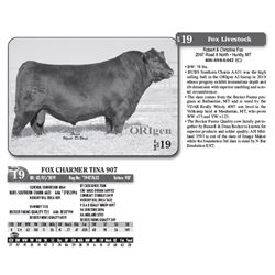 Lot - 19 - FOX CHARMER TINA 907