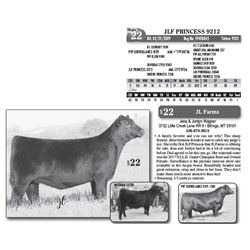 Lot - 22 - JLF PRINCESS 9212