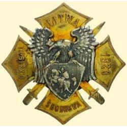 POLAND, MEDAL, CENTRAL LITHUANIA - I.TYPE 1920 (WITH SWORDS) (HONOUR BADGE OF THE CENTRAL LITHUANIAN