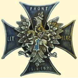 POLAND, MEDAL, LITHUANIAN - WHITE RUSSIAN FRONT - II.TYPE