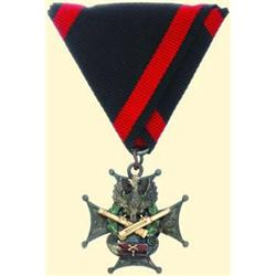 POLAND, MEDAL, 3RD BATTERY OF THE 1ST HORSE ARTILLERY / 1ST POLISH CORPS IN RUSSIA, 1918