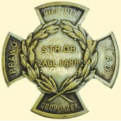 POLAND, MEDAL, DEFENSE GUARD OF DABROWSKI'S BASIN (1914-15) (CORRECT: CITIZENS' GUARD OF THE DABROWS