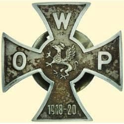 POLAND, MEDAL, POMERANIAN ARMED FORCES ORGANIZATION (1918-20)