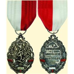 POLAND, MEDAL, PULAWSKI LEGION ASSOCIATION (1920?)