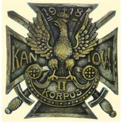 POLAND, MEDAL, ASSOCIATION OF KANIOWSKI AND ZELIGOWSKI FORMATIONS