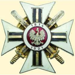 POLAND, MEDAL, ASSOCIATION OF POLISH ARMY VOLUNTEERS 1914-1921
