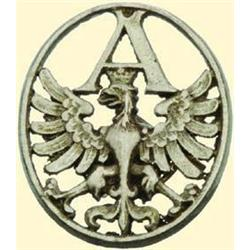 POLAND, MEDAL, AUTOMOBILE DIVISION 1917