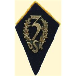 POLAND, MEDAL, 3RD DIVISION OF THE CARPATHIAN RIFLES