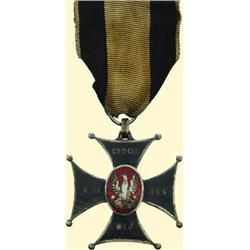 POLAND, MEDAL, MILITARY VIRTUE CROSS 1914. (3RD CLASS)