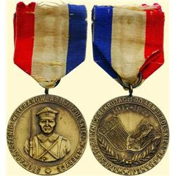 POLAND, MEDAL, ASSOCIATION OF POLISH ARMY VETERANS IN U.S.A. FOR WORLD WAR I