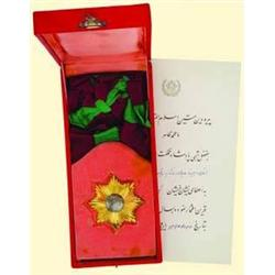 MEDALS AFGHANISTAN          ORDER OF THE STAR.