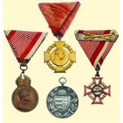 MEDALS AUSTRIA                         LOT OF FIV
