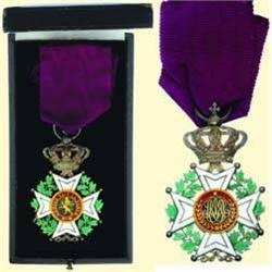 MEDALS BELGIUM                   Knight's Cross -